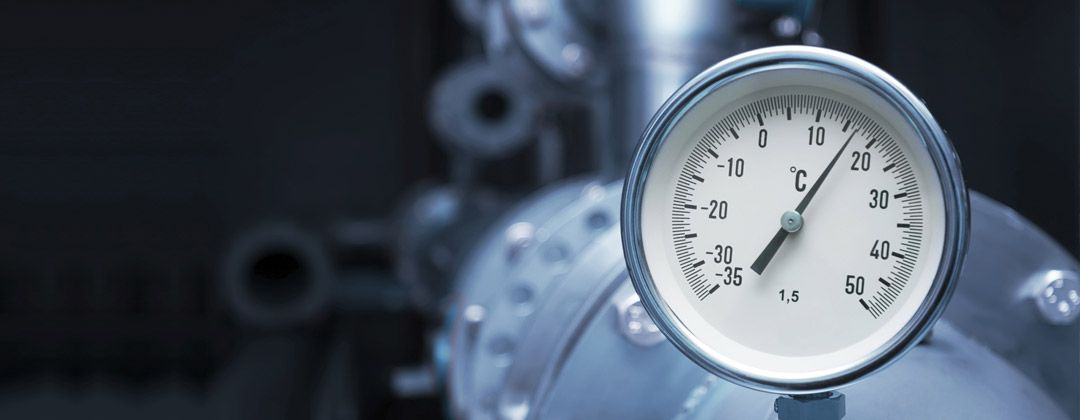 heating and boiler gauge