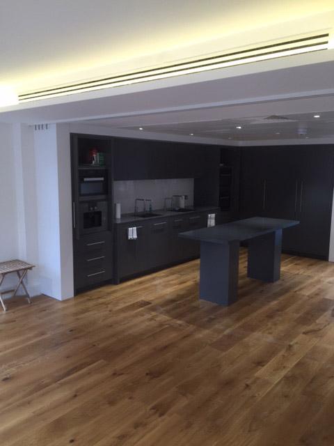 Ventilated Kitchen Interior